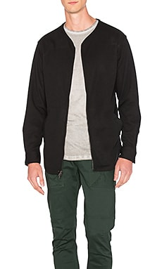 Publish Gerik Front Zip in Black