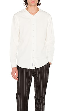 Фото - Рубашку на пуговицах cavin - Publish белого цвета