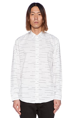 Publish Sabin Button Down in White