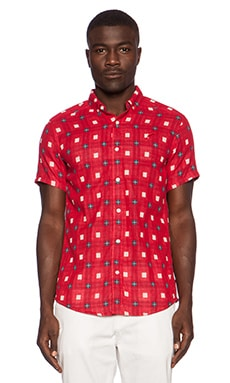 Publish Stinson Button Down in Red