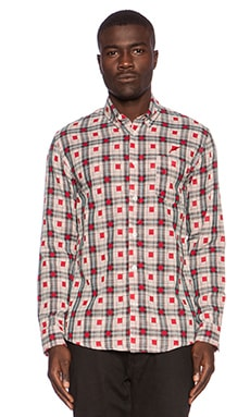 Publish Walt Button Down in Red