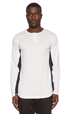 Publish Perez Henley in White