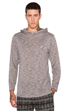 Publish Regan Hoodie Tee in Grey