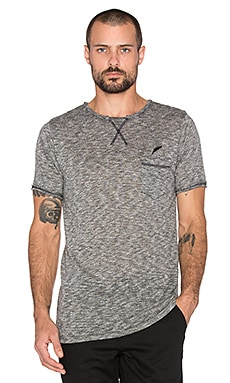 Publish Roman Tee in Charcoal