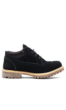 Publish x Timberland Classic WP Ox in Black Suede