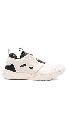 Publish x Reebok Furylite AFF in Oatmeal & Black & White