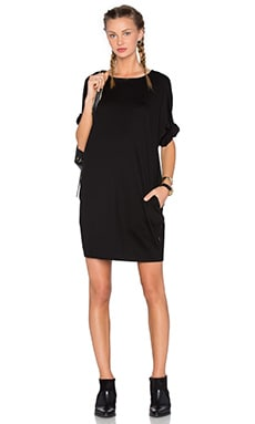 Publish Bell Shirt Dress in Black
