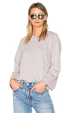 Cece Knit Sweater in Gray
