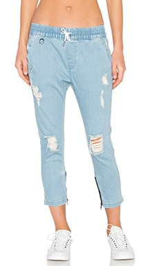 Megan Jogger en Light Indigo