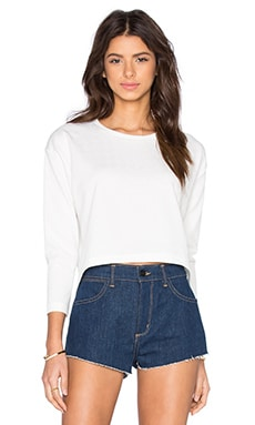 Publish Abby Crop Top in White