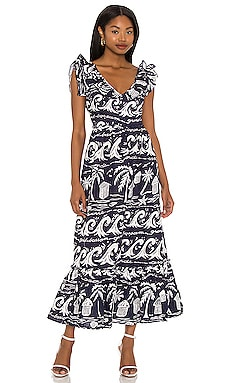 ROBE MAXI MARCORY Place Nationale $205 Durable
