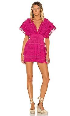 Le Rasis Backless Kaftan Mini Dress Place Nationale $197