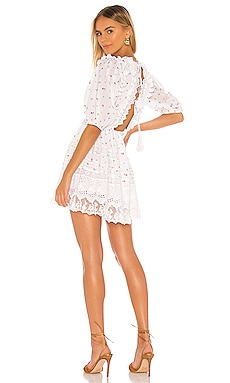 Le Roustan Open Back Mini Dress Place Nationale $357