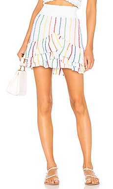 Saint Quentin Tiered Mini Skirt Place Nationale $221