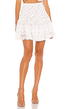 La Rotie Smocked Mini Skirt Place Nationale $107