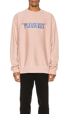 Balance Embroidered Premium Crewneck Pleasures $80