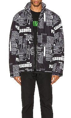 Poems Puffer Jacket Pleasures $160