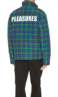Decades Plaid Puffer Jacket Pleasures $120