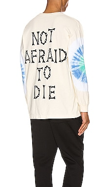 Not Afraid Tye Dye L/S Tee Pleasures $41