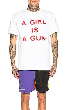 Girl Is A Gun Tee Pleasures $38