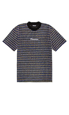 Disturbed Glitter Stripe Tee Pleasures $45