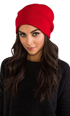 Plush Barca Hat in Red