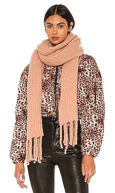 Oversized Ribbed Scarf Plush $26