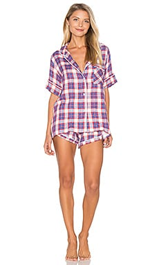 Ultra Soft Plaid PJ Set