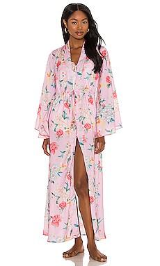 Silky Floral Kimono Plush $44 (FINAL SALE)
