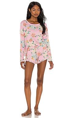 Ultra Soft Floral PJ Set Plush $32 (FINAL SALE)