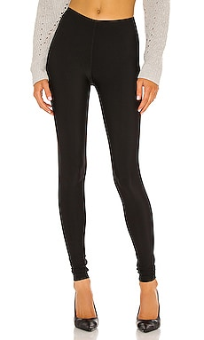 Matte Spandex Fleece Lined Legging Plush $79
