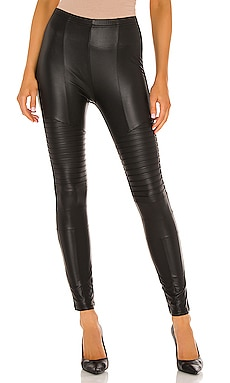 Full Liquid Moto Legging en Negro