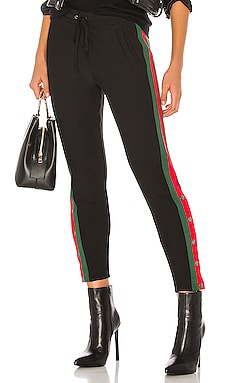 Fleece Lined Tuxedo Track Pant Plush $97