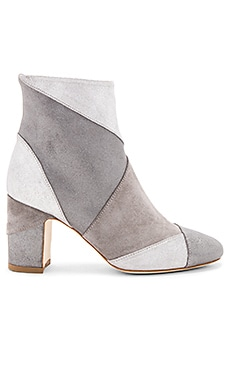 Ally Keywest Booties in Silver