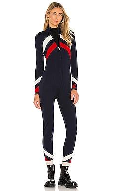 Chevron Suit Jumpsuit Perfect Moment $413