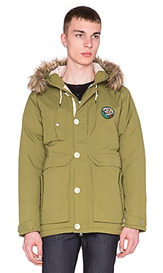 Poler Snorkel Jacket in Mossy