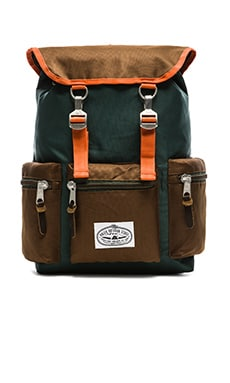 Poler Roamers Pack in Fern/Beaver/Khaki