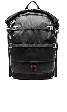 Poler High & Dry 40L Rolltop Backpack in Black