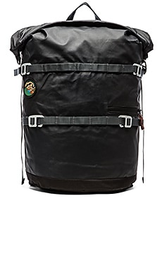 Poler High & Dry 20L Rolltop Backpack in Black