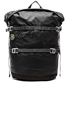 Poler High & Dry 20L Rolltop Backpack in Black