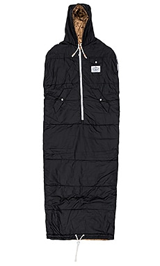 MOCHILA NAPSACK SLEEPING BAG IN BLACK