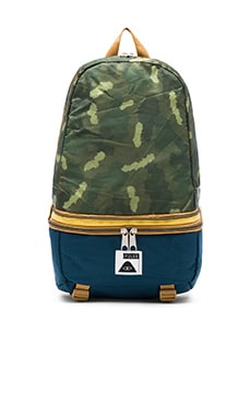 Poler Tourist Pack in Green Camo