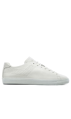 Pony Topstar OX Deconstructed Leather in White White