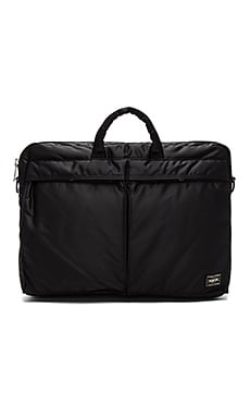 Porter-Yoshida & Co. Tanker 2Way Briefcase in Black