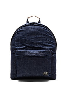 Porter-Yoshida & Co. Orgabits Daypack in Denim