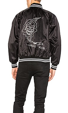 Smoke Baseball Jacket