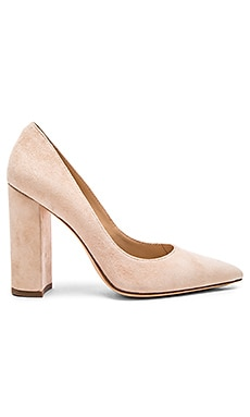 Celina Heel in Blush Suede