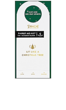 Lit Like A Christmas Tree Thirst Aid Kit Pinch Provisions $6