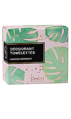 Deodorant Towelettes Pinch Provisions $8 BEST SELLER