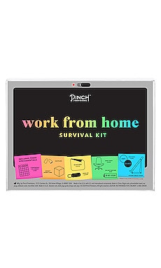 KIT DE SUPERVIVENCIA PARA TRABAJAR DESDE CASA WORK FROM HOME SURVIVAL KIT Pinch Provisions $20
